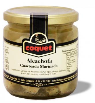 Alcachofa Cuarteada Marinada