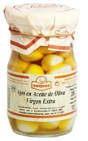 Ajos en Aceite de Oliva Virgen Extra Artesano