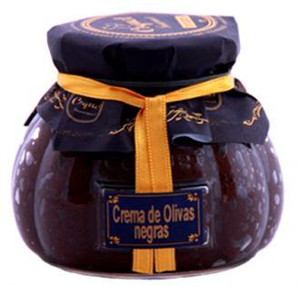 Crema de Olivas Negras Gourmet