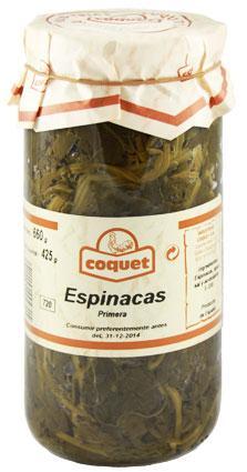 Espinacas Artesanas