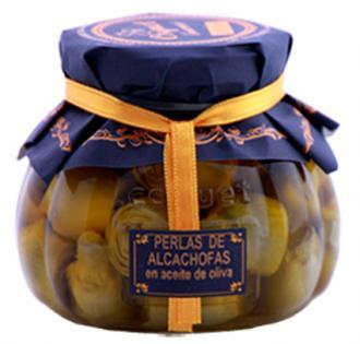Perlas de Alcachofas en Aceite de Oliva Gourmet